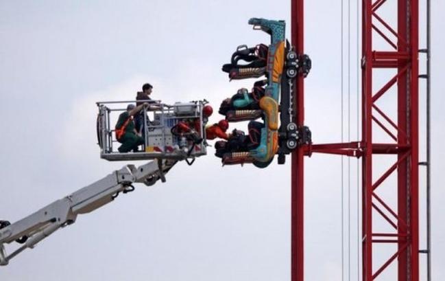 Kwikku, Apapun masalahmu penumpang yang terjebak dalam roller coaster ini jelas pernah memicu adrenalinnenya yang sangat besar