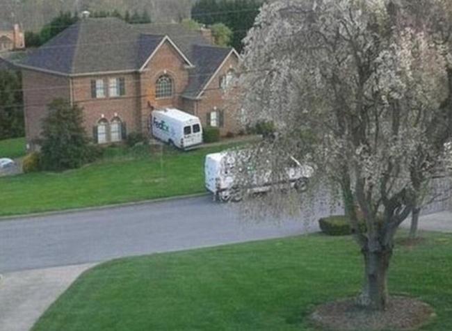 Kwikku, FedEx terbukti layanan ekspedisi yang cepat ya Sampai cepat juga saat mengantarkan paketan langsung kedalam rumah orangnya