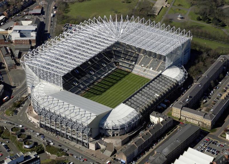 Kwikku, Newscastle United St James Park Stadium