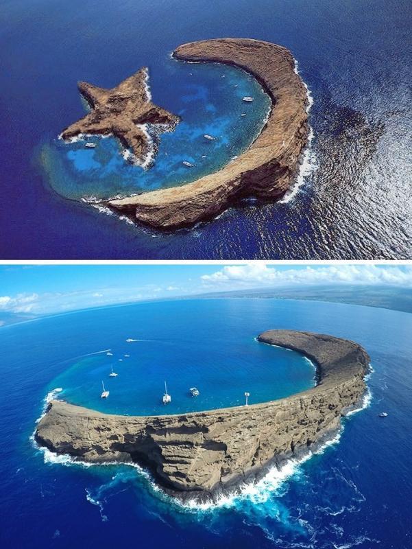 Kwikku, Pulau Bulan dan Bintang