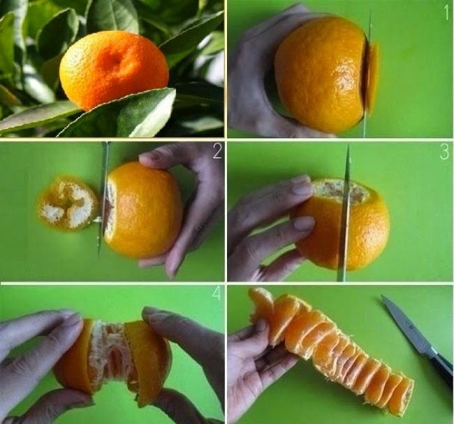 Kwikku, Kulit jeruk keprok yang tebal memang bikin kita kesulitan saat memakannya Kamu bisa mengupas sedikit bagian atas dan bawahnya dulu kemudian kupas bagian lainnya dengan menariknya dengan pisau So kita bisa memisahkan daging buah tersebut dengan mudah