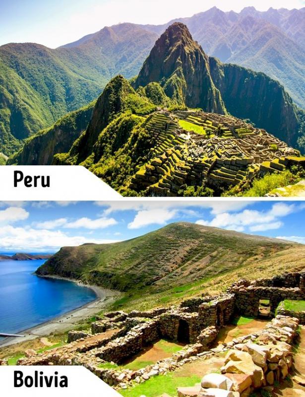 Kwikku, Butuh modal yang besar untuk bisa pergi menikmati pemandangan ke kota Inca Machu Picchu di Peru Ada baiknya pergi saja ke Isla del Sol di Bolivia dengan harga yang tak terlalu mahal