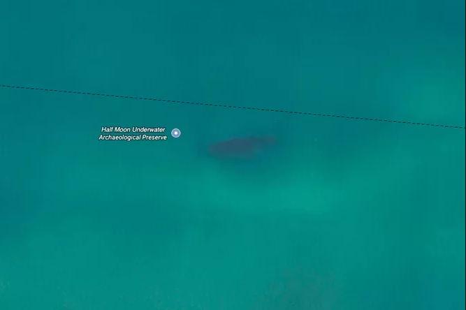 Kwikku, Ditemukan juga kapal Half Moon yang tenggelam karena hantaman badai besar pada tahun