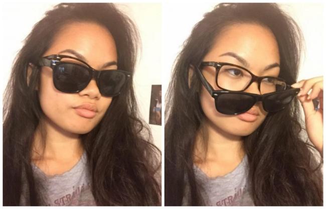 Kwikku, Ingin terlihat cool saat memakai kacamata hitam tapi punya minus Begini loh solusinya