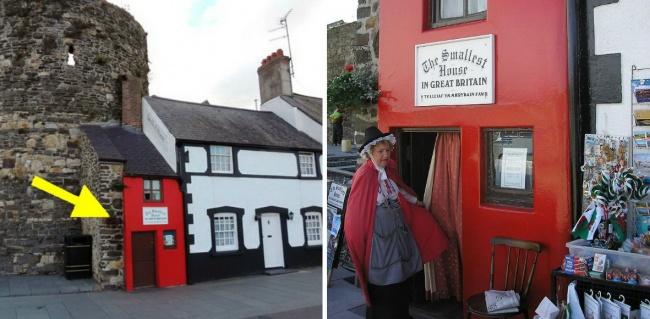 Kwikku, Rumah sempit yang berada di Wales ini sudah bisa ditebak kalau sempit bukan Meskipun demikian rumah mungil ini mampu berdiri sejak abad ke hingga tahun an