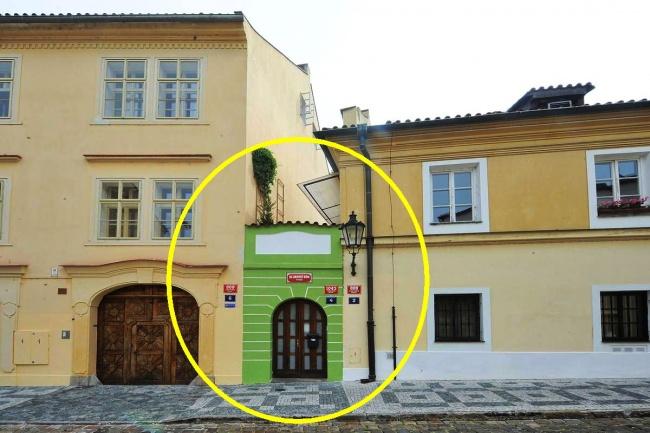 Kwikku, Percaya atau tidak ada juga rumah yang luasnya hanya  meter persegi saja Rumah mini ini sudah dibangun sejak pertengahan abad ke