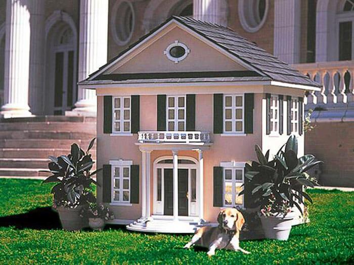 Kwikku, Seorang miliuner mendesain kandang anjing yang tampilannya mirip dengan rumahnya sendiri yang diberi nama La Petite Maison Permbangunan kandang tersebut menelan biaya Rp  juta