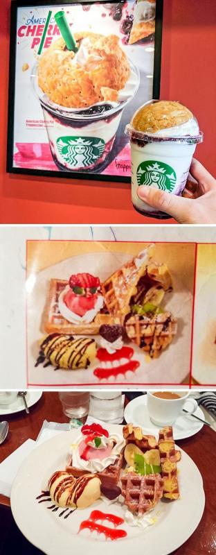 Kwikku, Restoran disana menyajikan makanannya dengan tampilan semirip mungkin dengan gambar menunya Menarik banget bukan