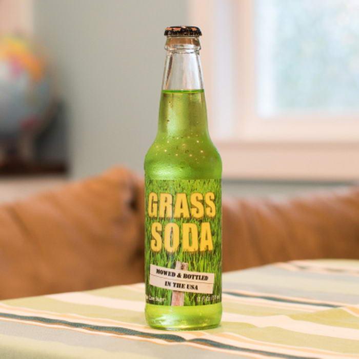 Kwikku, Yang ini adalah panampakan soda rasa rumput semoga rasanya segar ya