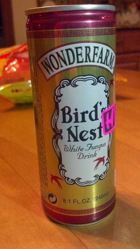 Kwikku, Berikutnya ada soda dengan rasa sarang burung Boleh juga Pasti harganya juga lumayan mahal nih