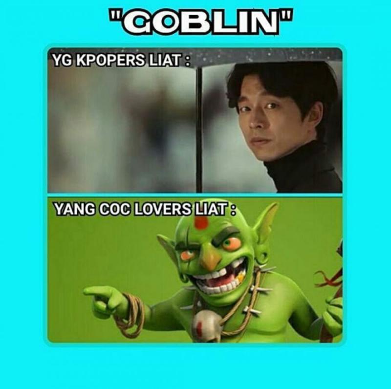 Kwikku, Di Korea goblinnya Tamvan di COC warnanya ijo