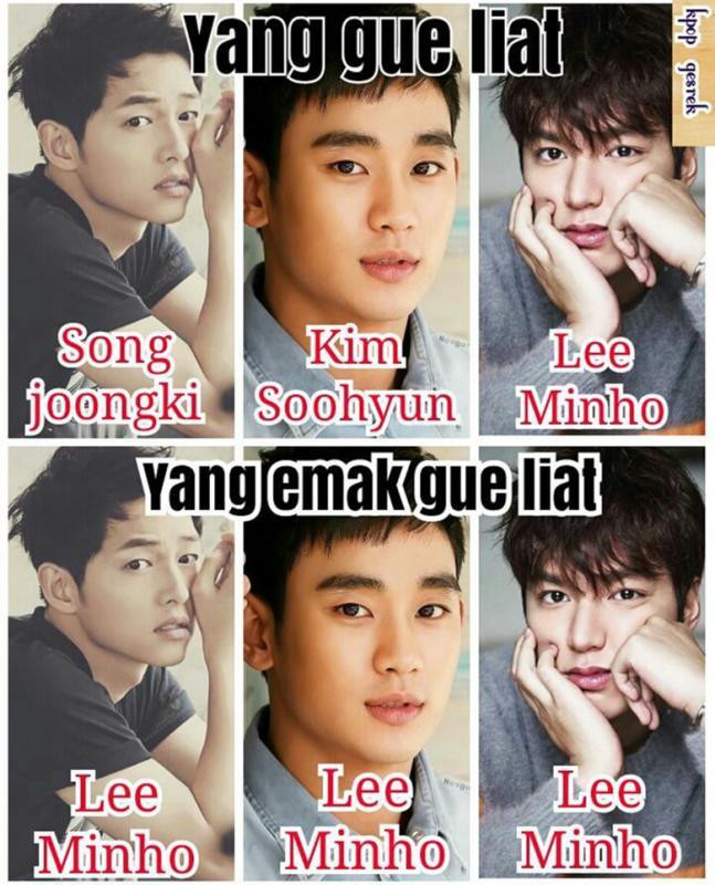 Kwikku, Semua orang Korea namanya Lee Min Ho