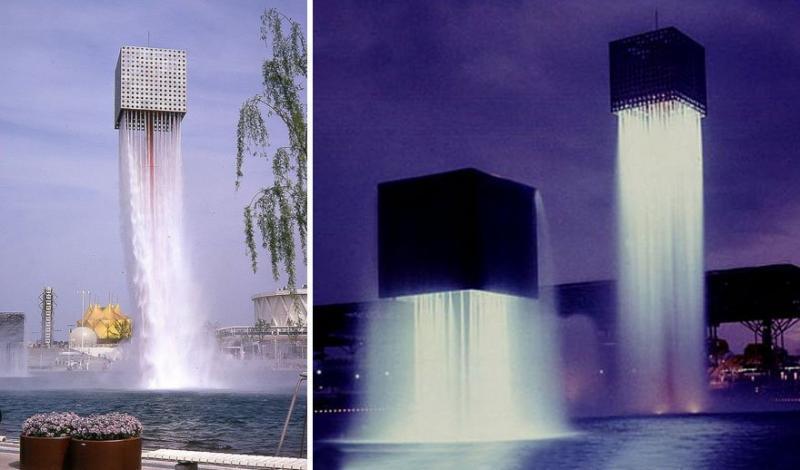Kwikku, Nine Floating Fountains Osaka Japan