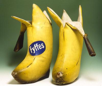 Kwikku, Banana Shoes Lucu sih tapi yakin mau ke luar pakai ini