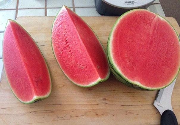 Kwikku, Makan semangka paling bikin sebal karena bijinya Tapi kalau bijinya hampir tidak ada gini bagaimana perasaanmu