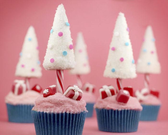 Kwikku, Marshmello and pink cupcakes ini bikin suasana Natal semakin manis dengan gulagula halusnya