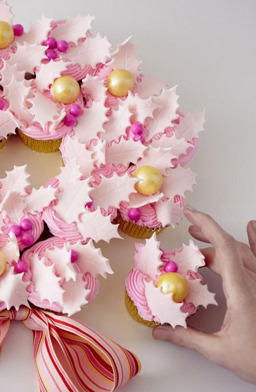 Kwikku, Candy and Pink Cupcakes kue yang cantik