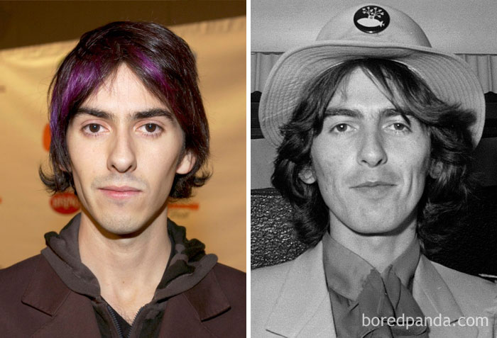 Kwikku, Dhani Harrison dan George Harrison di Usia an