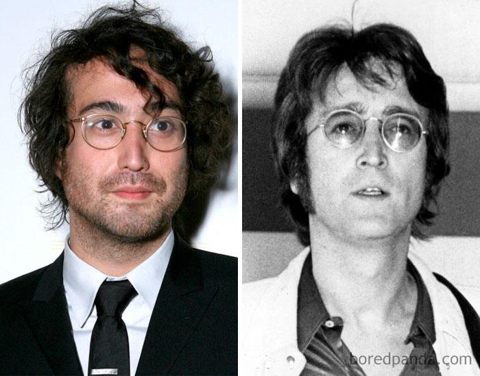 Kwikku, Sean Lennon dan John Lennon di Usia  Tahun