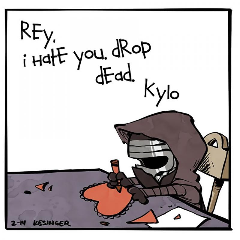 Kwikku, Rey I hate you