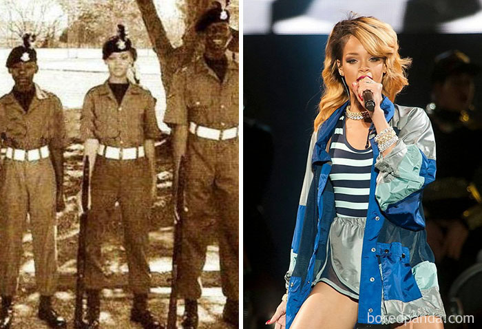 Kwikku, Rihanna dulunya adalah calon perwira di Akademi Militer AS
