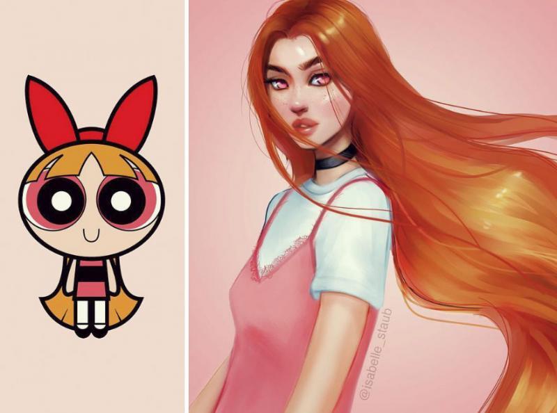 Kwikku, Blossom The Powerpuff Girls