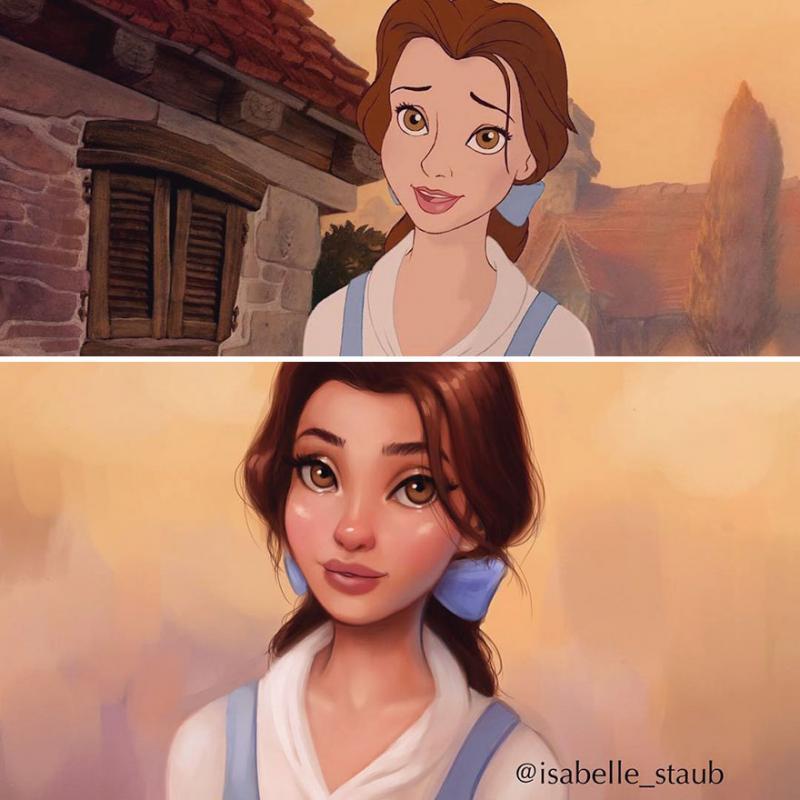 Kwikku, Belle Beauty and The Beast