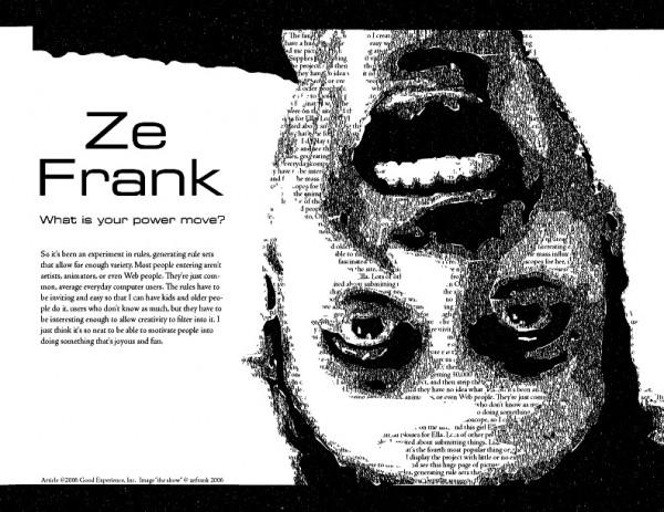 Kwikku, Ze Frank