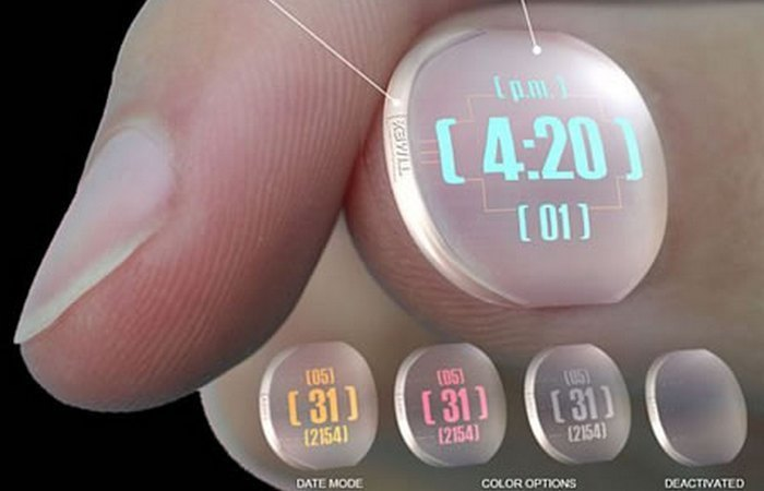 Kwikku, Timex Thumbnail Watch