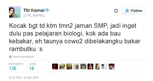 Kwikku, Kalau Raisa suka bakar Titi Kamal malah dibakar