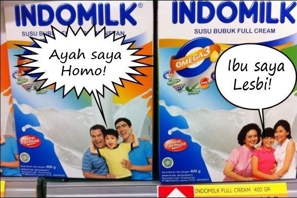 Kwikku, Pendukung LGBT nih