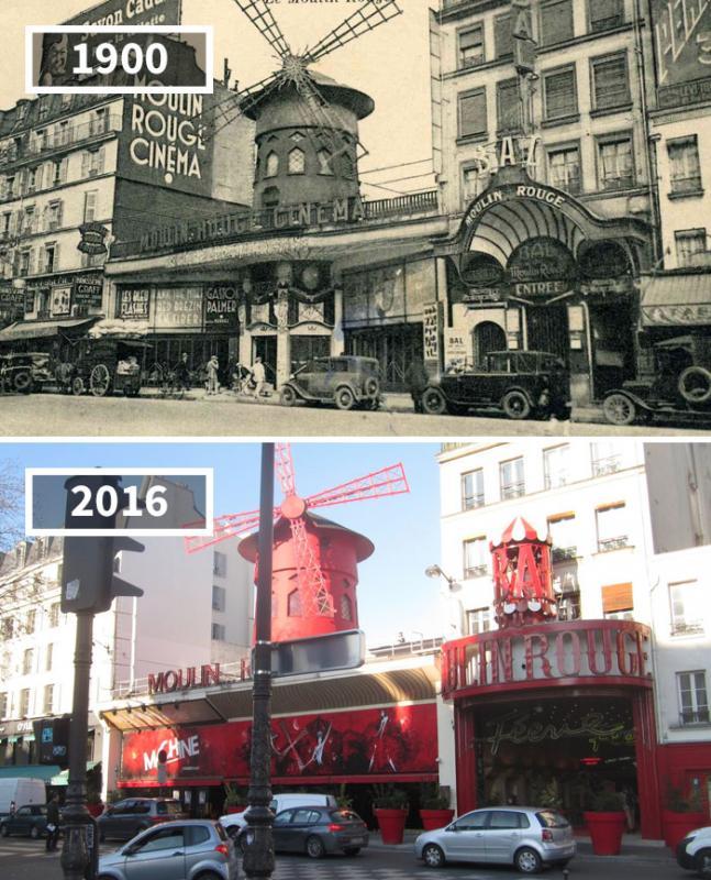 Kwikku, Moulin Rouge Paris Perancis