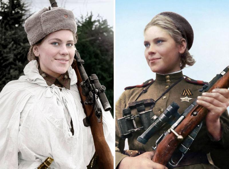 Kwikku, Roza Shanina telah membunuh  Nazi saat usianya  tahun