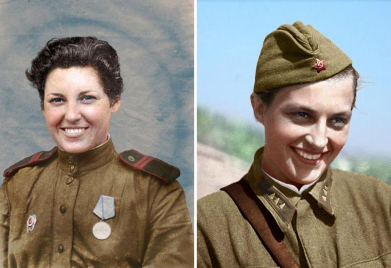 Kwikku, Yevgenia Makeeva dilaporkan telah membunuh  tentara Nazi