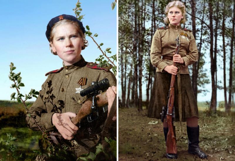 Kwikku, Roza Shanina telah menembak di Prussia Timur pada tahun  saat usianya  tahun Diarynya selama masa perang dipublikasikan dan disimpan dalam museum kini