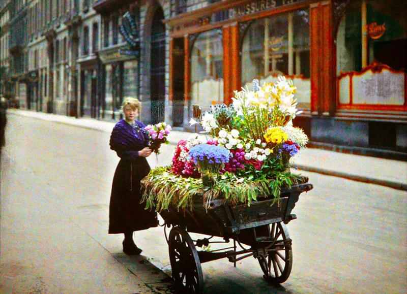 Kwikku, Gadis Penjual Bunga Paris