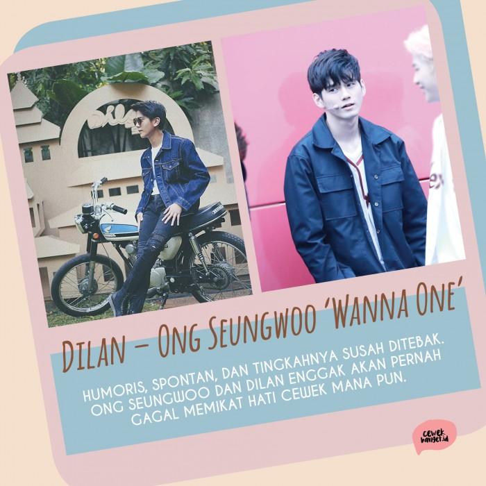 Kwikku, Ong Seung Woo cocok nggak jadi Dilan