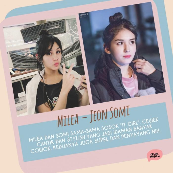 Kwikku, Jeon Somi pantes aja sih jadi Milea Samasama cantik