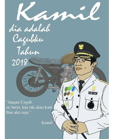 Kwikku, Dilan versi Kang Emil