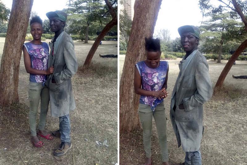 Kwikku, Mereka bertemu di jalanan Nairobi lingkungan tempat tinggal mereka