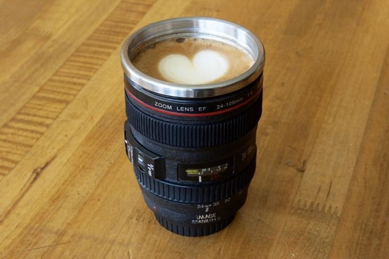 Kwikku, Kalau kamu hobi fotografi camera lense mug ini cocok banget kamu miliki