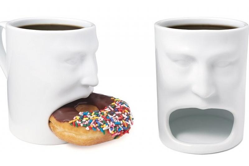 Kwikku, Two in one Bisa digunakan untuk wadah kopi dan kue sekaligus