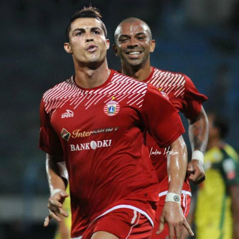 Kwikku, Pemain Top Liga  Indonesia Christiano Ronaldo gabung dengan Persija Jakarta dan bisa tampil di Piala AFC