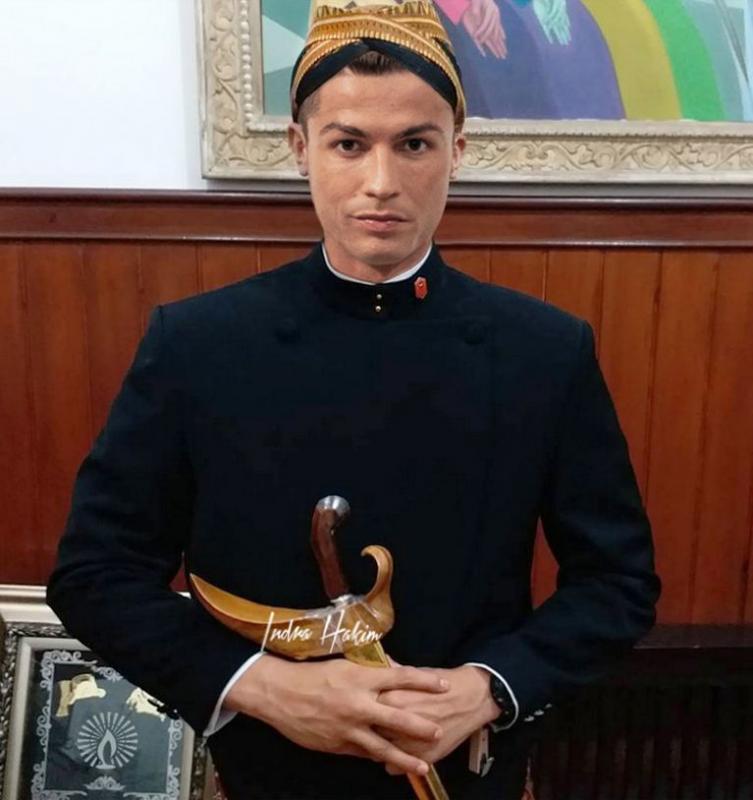Kwikku, Punya badan atletis Christiano Ronaldo cocok banget jadi pagar bagus