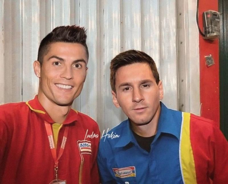 Kwikku, Gini jadinya kalau Christiano Ronaldo kerja di Alfamart jadi kasir atau supervisor tergantung pendidikan yang terakhir ia tempuh