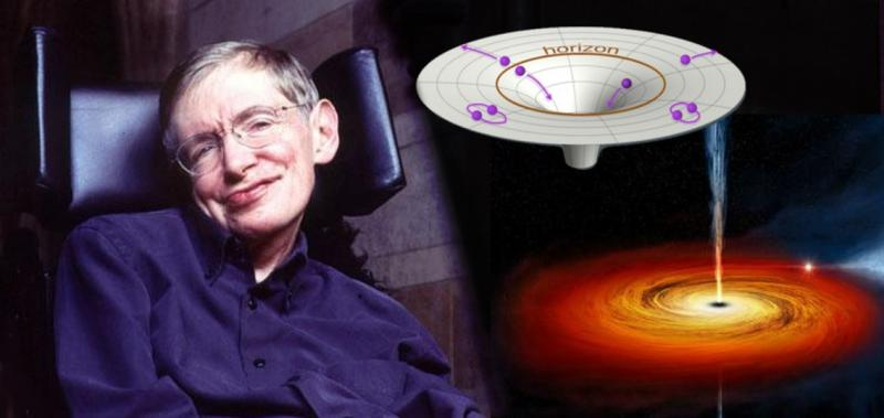 Kwikku, Teori black hole yang mengemisi Radiasi Hawking