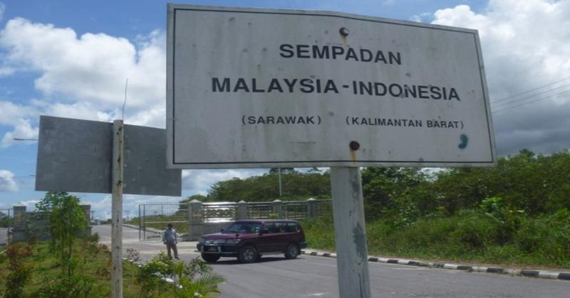 Kwikku, Daerah Perbatasan di Malaysia
