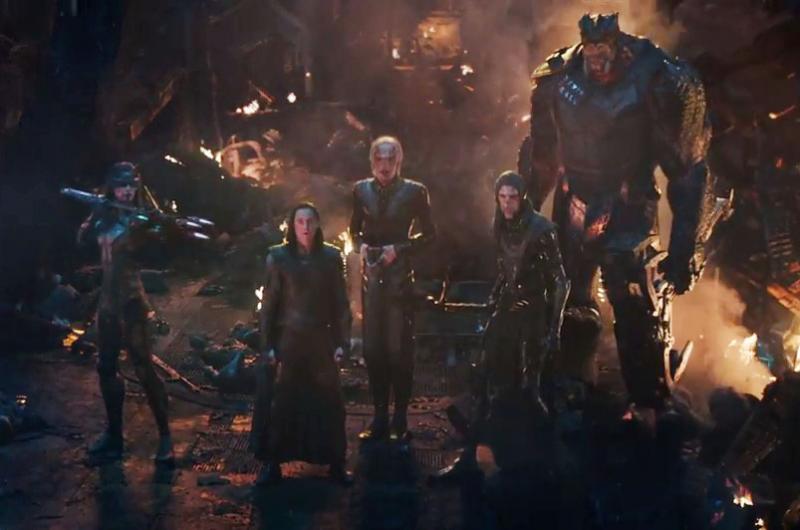 Kwikku, Loki memang terbiasa mengkhianiati Avengers tapi kalau dilihatlihat dari trailernya kali ini ia terpaksa disudutkan oleh antekantek Thanos yang dikenal dengan Black Order