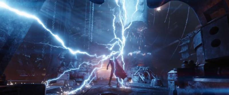 Kwikku, Dibantu oleh Rocket Racoons dan Groot Junior remaja sepertinya Thor akan melakukan sesuatu yang luar biasa dengan kekuatannya