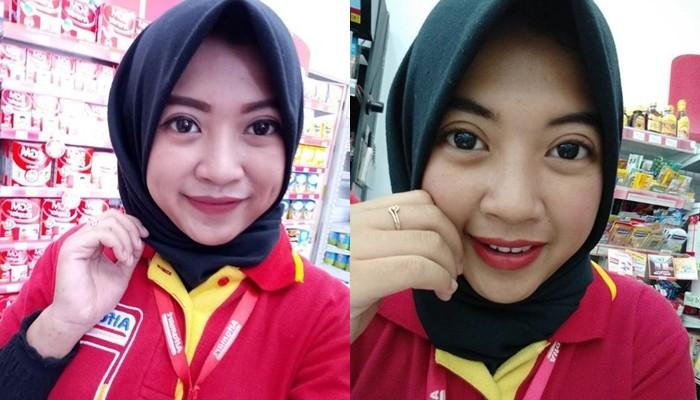 Kwikku, Pegawai Alfamart ini adalah seorang hijaber cantik Cewek asal Kebumen ini punya follower mencapai K di akun instagramnya Akhirnya ia pun banjir tawaran endorse